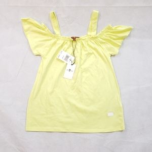 7 for all mankind girls sunny lime top